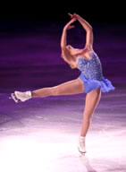 Performing Ice Skating Lady